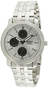 Casio Enticer Chronograph White Dial Men's Watch - MTP-1192A-7ADF (A440)