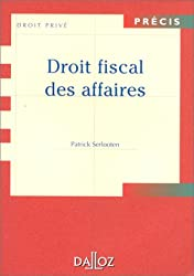 Droit fiscal des affaires, édition 1999