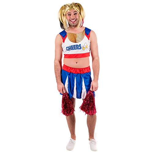 Fun Shack Herren Costume Kostüm, Cheerleader, XL