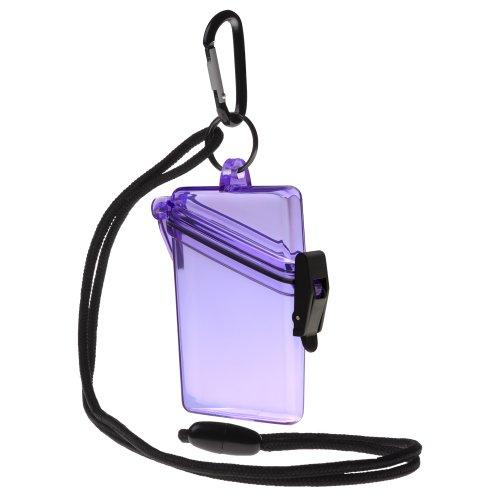 Witz (begriffsklärung Siehe ES Sicher Wasserdicht ID/Badge Holder Fall, violett, Einheitsgröße -