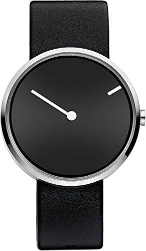 jacob-jensen-unisex-quartz-watch-with-black-dial-analogue-display-and-leather-black-jacob-jensen-cur