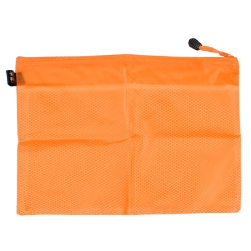 DealMux 13 Lange Orange 2 Fach A4 Papier Datei Pen Receipt Ordner w Strap (Datei-ordner Receipts)