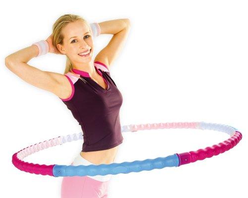 Hoopomania Body Hoop, Hula Hoop mit 77 Massagenoppen 0,95kg