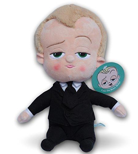 eton Plüschtiere in Anzug CEO Puppy Spion Plüsch Stofftier DreamWorks Film Maskottchen (Spion-anzug)