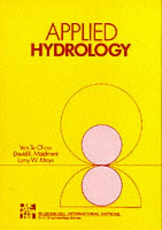 APPLIED HYDROLOGY (4/P) (Int'l Ed) (Civil Engineering)