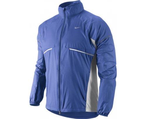 NIKE Herren Jacke Micro Fiber Team, varsity blue/white/white/reflective silver, XL, 404631-444, Team-varsity-jacke