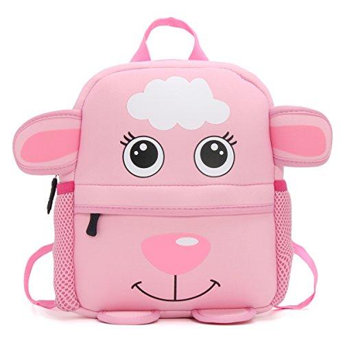 OURBAG Kid Kleinkind Rucksack Baby Jungen Mädchen Niedlich Cartoon Taschen für Kinder Schaf Schaf