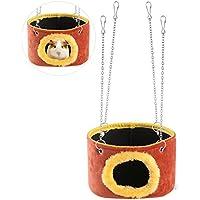 WINOMO Mascota Hamaca Colgante Juguetes para Hamster Ardilla Chinchilla cobaya ratones pequeños animales de mascotas