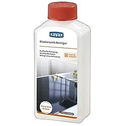 Xavax Reiniger für Glaskeramik Kochfeld, Ceranfeld, Induktionsherd, 250 ml