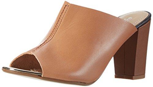 GARDENIA COPENHAGEN Damen Slippers On Heel Pantoffeln Braun (vaquetta Tan)
