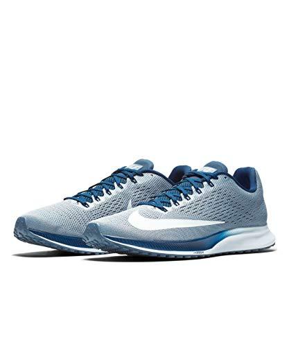 a2fb7c1e35f5 Nike Men s Air Zoom Elite 10 Running Shoes Multicolore (Ashen  Slate Football Grey