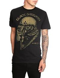 Black Sabbath muerte máscara Slim-fit T-Shirt