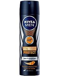 Nivea Men 48h Ultimate Protect Anti-Transpirant für Männer, Deo-Schutz, 6er Pack (6x 150 ml)