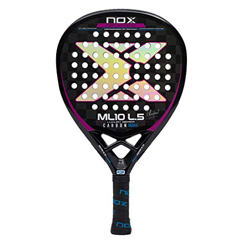 Nox ML10 Luxury L5 Carbon 18k Palas, Adultos Unisex, Negro, 375