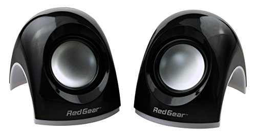 Redgear Mini 2.0 Channel USB Speakers (Black)