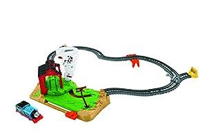 Thomas & Friends Circuito Thomas y el gran tornado, pista de coches de juguete (Mattel FJK25)