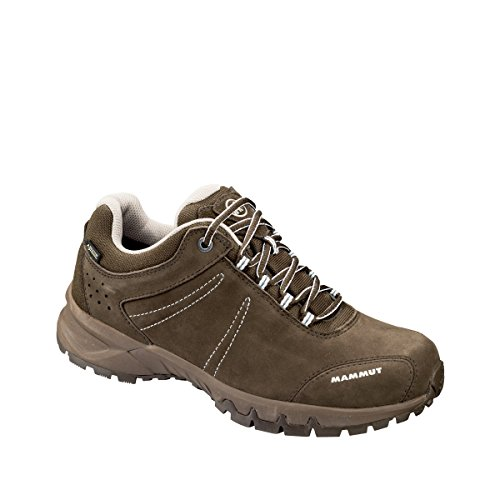 Mammut Nova III Low GTX Women – Bark/White bark-white