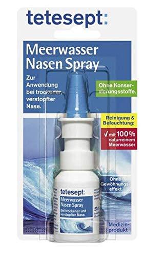 Meerwasser Nasenspray - Zur Anwendung bei trockener, verstopfter Nase - 20 ml