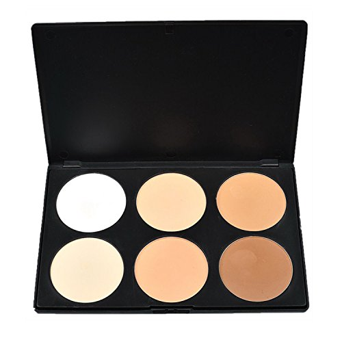Vococal® 6 Colors Contour Blush Concealer Palette Coloris 1E