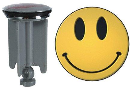 Waschbeckenstöpsel Waschbeckenstopfen Waschtischstöpsel (Funny Face)
