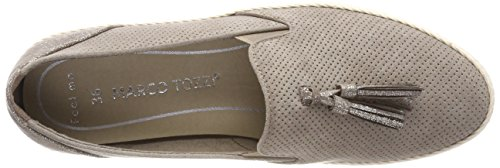 Marco Tozzi 24232, Mocasín Mujer Beige (taupe)