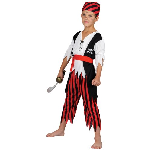 SHIPWRECK PIRATE CHILDREN KIDS COSTUME FANCY DRESS UP (Pirate Up Dress Ideen)