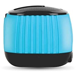 Amkette Trubeats Pixie Portable Bluetooth Speaker with Mic (Black)