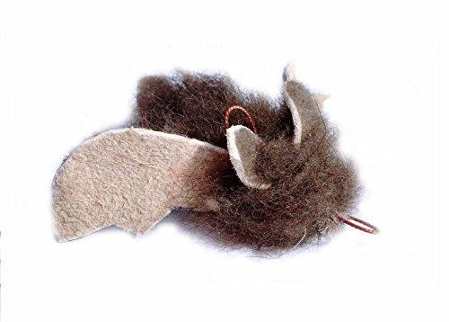 Buffalo Batty (Fledermaus) aus VBüffelfell - Ersatzanhänger für Flying Frenzy / PurrSuit / DaBird