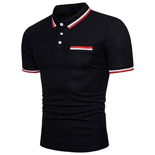 a2418f5268c2d0 Clearance Big Covermason Hommes Polo Sport T-Shirt Personnalité T-Shirt à  Manches Courtes
