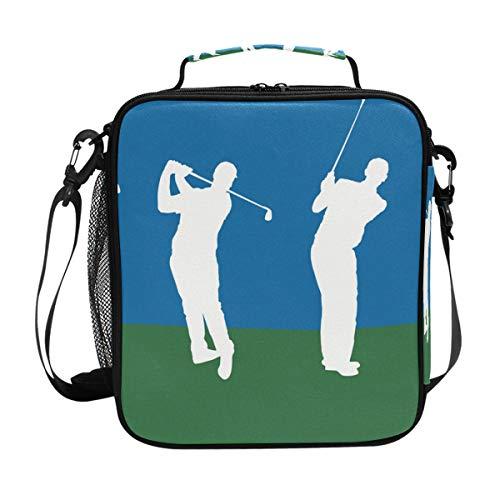 Bennigiry golf fitness cooler bag tote adulti borsa termica per il pranzo picnic food organizer scatola per il pranzo per donne uomini bambini