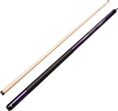 Metallic Cues Pool (Viper Revolution Sure Grip Pro 58 2-Piece Billiard/Pool Cue, Metallic Purple, 18 Ounce by Viper by GLD Products)