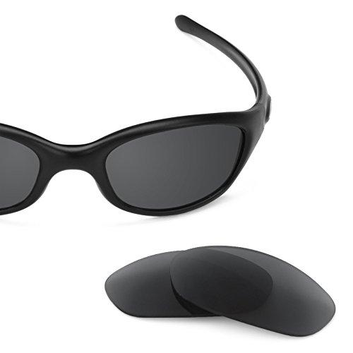 Verres de rechange pour Oakley Fives 2.0 — Plusieurs options Noir - Non-Polarisés