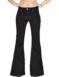 flared jeans women clothing. Black Bedroom Furniture Sets. Home Design Ideas