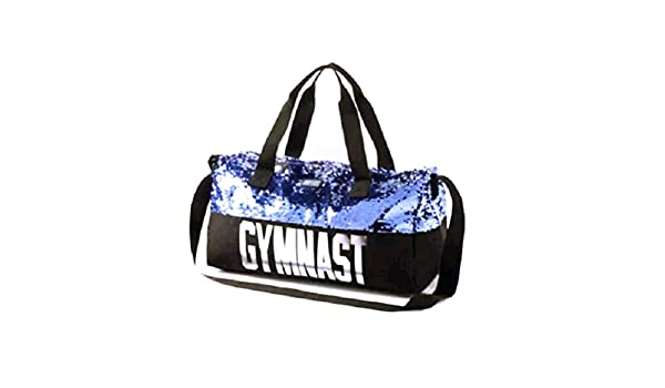 77b627c670 Justice Girls Gymnast Duffle Bag Flip Sequin Tote Gym Bag  Amazon.co.uk   Clothing