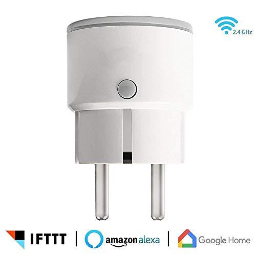 L&Z Smart Socket, WiFi Smart Plug-Sprachsteuerung, zeitgesteuerter mobiler Fernzugriff mit Amazon...