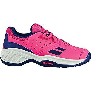 Babolat Mädchen Tennisschuhe Pink FandangoPink/Estateblue