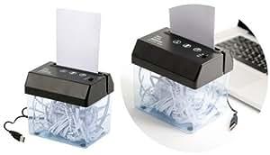 Broyeur à papier - Destructeur de documents - USB
