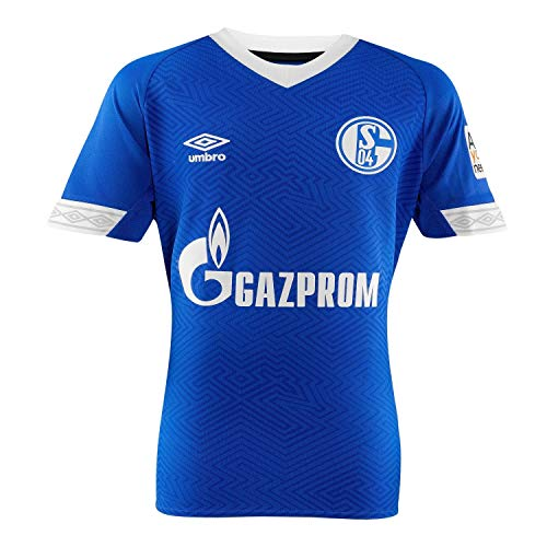 Umbro Herren FC Schalke 04 Home SS Jersey, Blau, M
