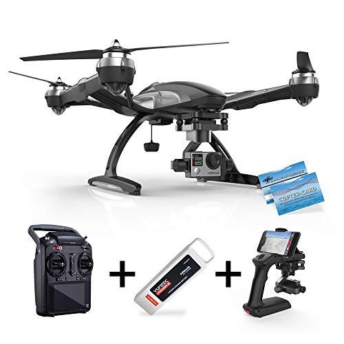 Yuneec Q500 Typhoon G für GoPro inkl. Haftpflichtversicherung ST10 Steuerung + Gimbal GB203 + Steadygrip G + Video Downlink