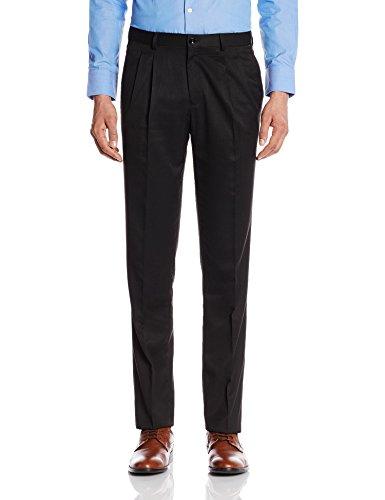 Blackberrys Men's Formal Trousers (8907196371803_BP-T1Z-TREMOR_32_Black)