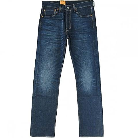 Levi's® Herren Jeans 501® Originalt Fit - Blau - Galindo , Größe:W 33 L 34;Farbe:Galindo (1589)