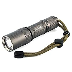 Ultrafire Led Torch Uf60 Powerful Torch 1000 Lumens Max 5 Modes Tactical Torch,ipx-65 Waterproof Bright Torch,xm-l2 Led,pocket Torch Edc Emergency Flashlight