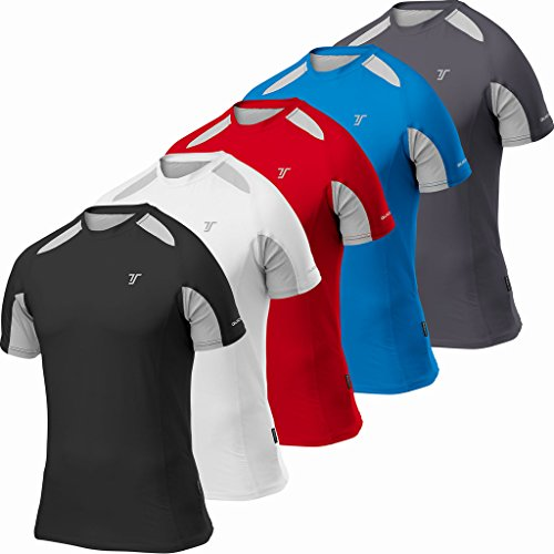 TCA Mens Short Sleeve Quick-Dry Performance Training Top