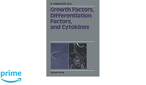 Growth Factors, Differentiation Factors, and Cytokines