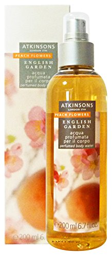 Atkinsons English Garden - Peach Flowers – Eau parfumée pour le corps 200 ml