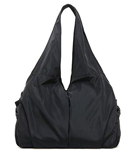 Fashion Bag Schwarz Freizeittasche Damen Tasche Nylon Bag Fansela Handtasche shopper Schultertasche Shoulder Grün 1q4TdIqwSx