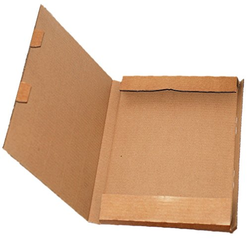 CrazyGadget® C4 A4 C5 A5 Postal Post Office Royal Mail Large Letter Maximum Size Post Pip Cardboard Box (500, A4/C4)
