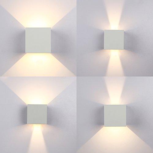 Topmo 12w lampada da parete a led con angolo di visualizzazione regolabile impermeabile ip65 - Lampade da esterno da parete ...