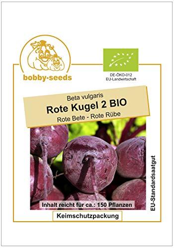 Bobby-Seeds BIO-Rübensamen Rote Kugel 2, Bete Portion