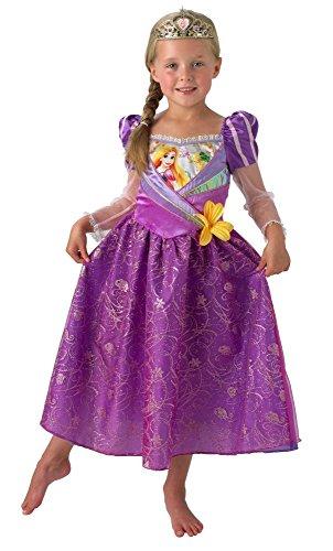 Disney Prinzessin Kinder Kostüm Rapunzel mit Diadem -
